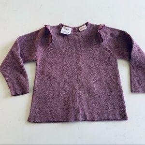 Zara baby girl sweater